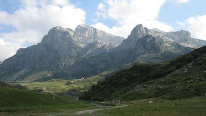 View to the Cime delle Saline
