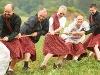Die Highland-Games sind eine Riesengaudi für Gruppen  - @ Autor: Beate Philipp  - © Quelle: Hohenlohe + Schwäbisch Hall Tourismus e.V.