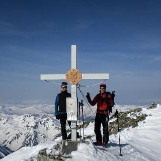 Gipfel des Gr. Bösensteins (2448 m)