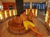 Wer möchte, kombiniert die Sauna mit dem Solebadbesuch  - @ Autor: Beate Philipp  - © Quelle: Hohenlohe + Schwäbisch Hall Tourismus e.V.