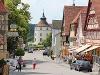 Altstadt mit Blick auf Schloss Langenburg  - @ Autor: Beate Philipp  - © Quelle: Hardy Mann