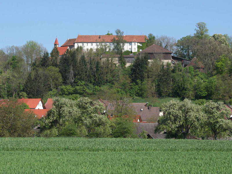 Auf der Tannenburg kann auch übernachtet werden   - © Quelle: Hardy Mann