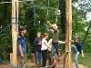 Niedrigseilpark auf der Tannenburg   - © Quelle: Hohenlohe + Schwäbisch Hall Tourismus e.V.