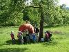 Kinderprogramm im Naturerlebnis Kappelbuck  - @ Autor: Beate Philipp  - © Quelle: Hohenlohe + Schwäbisch Hall Tourismus e.V.