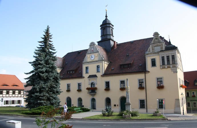 Rathhaus Lommatzsch