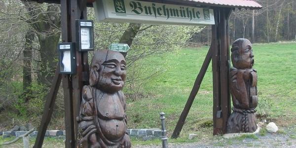 Fußweg Buschmühle