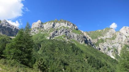 Der Hochweißstein, der Monte Peralba