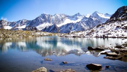 Rinnensee und Berge