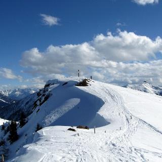 Kurz vor dem Gipfel des Stuckkogel