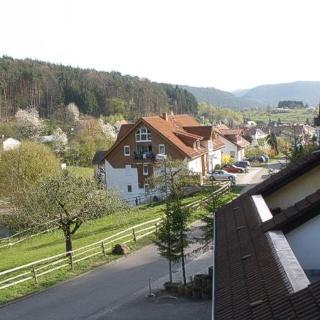 Ausblick von Terrasse 1