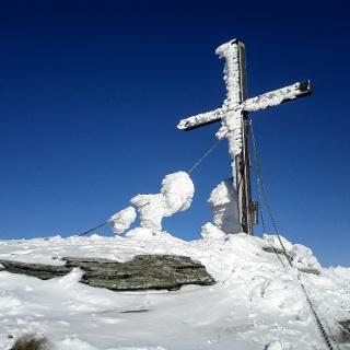 Gipfelkreuz des Gr. Schober