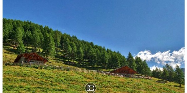 360-Grad-Ansicht der Oberen Gostalm