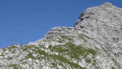 Südostgrat mit Warscheneckgipfel vom Widerlechnerstein