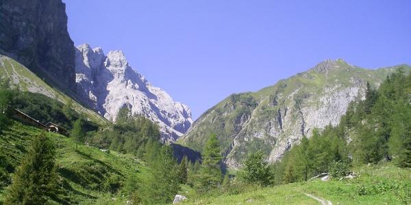 Aufstieg vom Plöckenpass