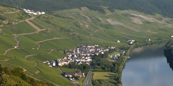 Himmelreich-Panorama über der Mosel