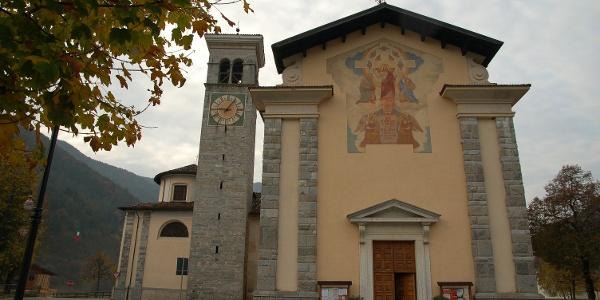Church from Tiarno di Sopra