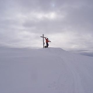 Gipfelkreuz der Speikspitze