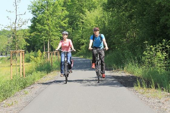 Radfahren auf alten Bahntrassen