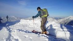 Auf Ski das Allgäu erleben