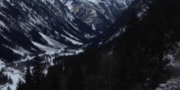Blick von der Grawand Hütte