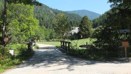 Weganfang bei Ebnerhof