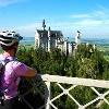 Mountainbiketour um den Säuling - Blick von der Marienbrücke auf Neuschwanstein