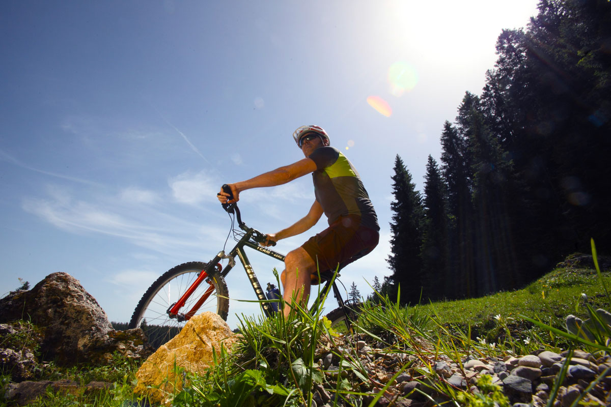 Mountainbiketour Aufacker Runde