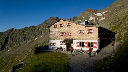 Bergerlebnis Innsbrucker Hütte 2.369 m