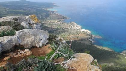 Blick vom Moutti tis Sotiras zur Nordküste