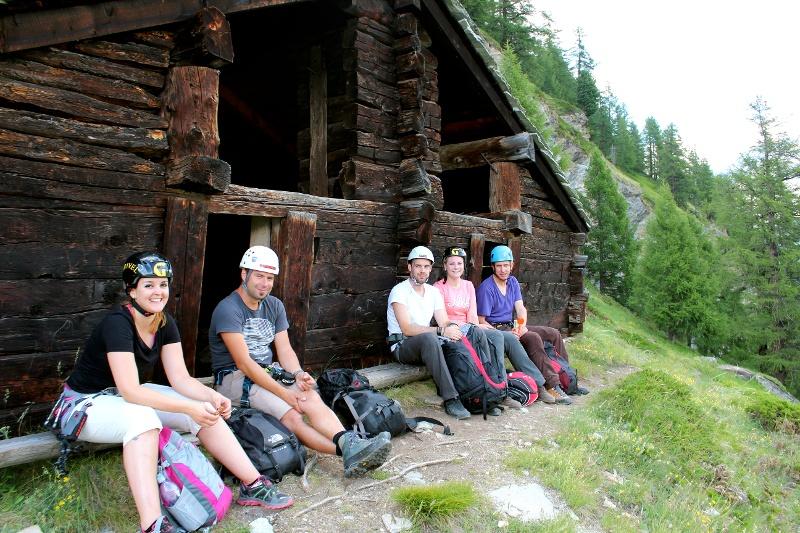Klettersteig Zermatt : Fotos klettersteig kandersteg  sac sektion zermatt