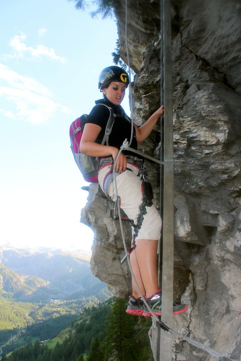Klettersteig Schweifinen - Route C   Zermatt, Schweiz