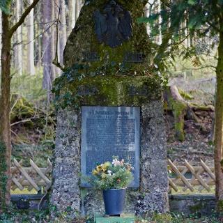 Gedenken der Opfer der beiden Weltkriege.