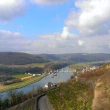 Blick über's Neckartal