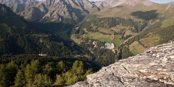 Hängebrückenweg Sent – Val Sinestra – Zuort – Vnà