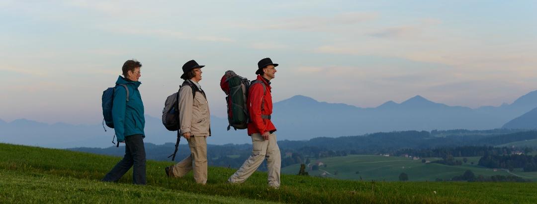 Durch Berg und Tal
