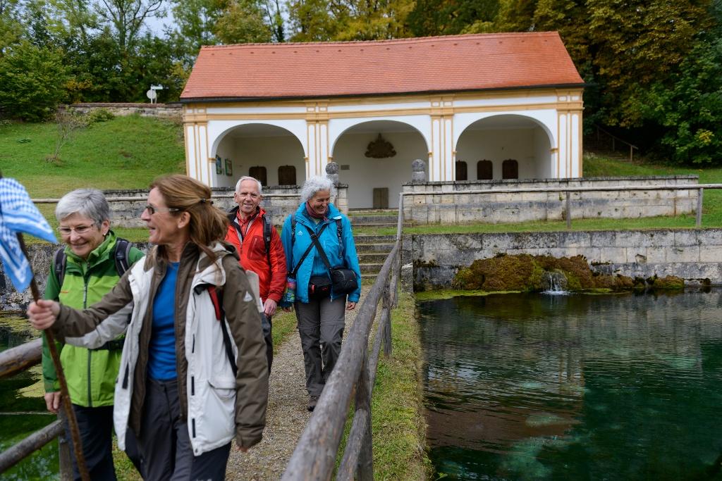 Jakobsweg Etappe 1aA: Herrsching - Wessobrunn (nördlich des Ammersees) (Andreas Klausmann)