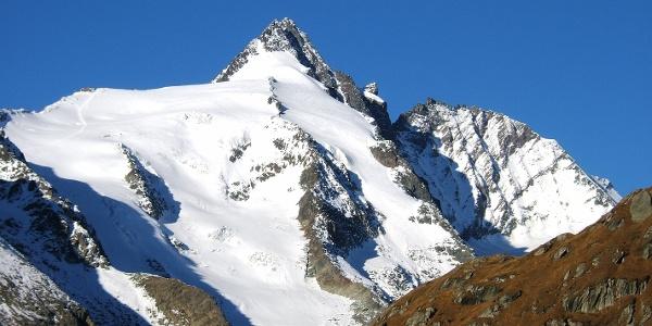 Der Großglockner - der höchste Berg Österreichs