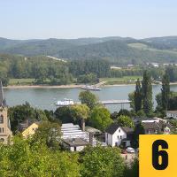 Aussichtspunkt mit Blick auf Bad Breisig