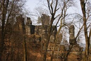 Foto Abstieg vom Kleinen Winterberg