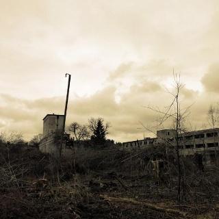 Altes Industrie-Gebäude bei Hegge