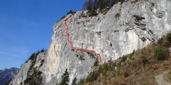 3er Kombination - Routenverlauf