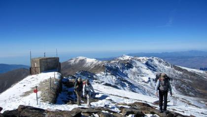 Am Gipfel des Pico de la Veleta