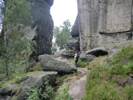 Foto der Weg zur Idagrotte
