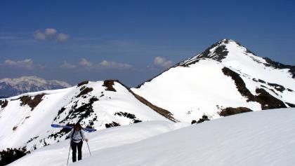 Blick zum Hochrettelstein 2220m