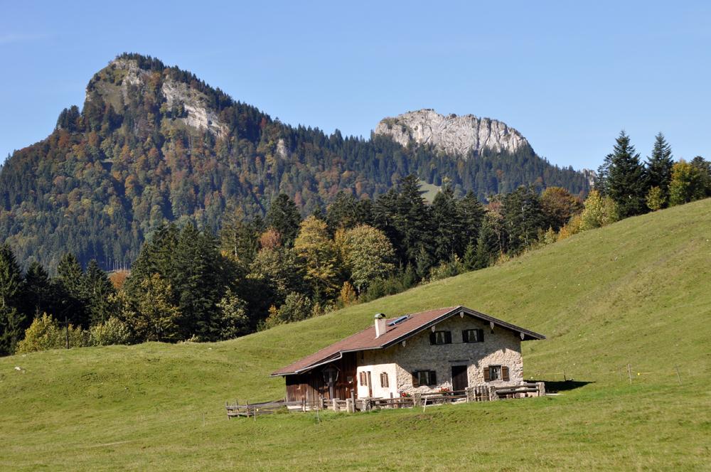 Kasalm - Wanderung zum Spitzstein