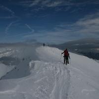 Der Gipfel der Jakob Spitze ist erreicht.