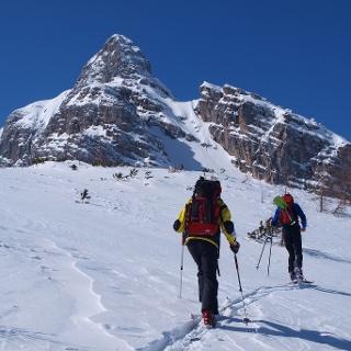Aufstieg zur Windlucken ca. 1800 m