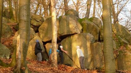 Schenkenberg Boulderfelsen