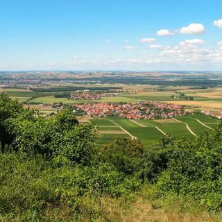 Conradseck Blick nach Rödelsee