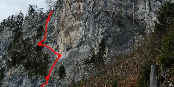 Übersicht Faschingszug (Foto vom 18.4.2008)